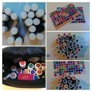 Collage mit Bildern der Etiketten