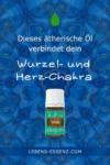 Davana ätherisches Öl verbindet das Herz- und das Wurzelchakra - siehe lebens-essenz.com